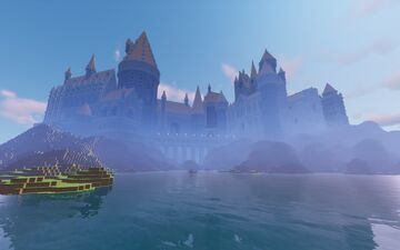 The Ultimate Full-Scale Hogwarts Castle - a Passion Project (WIP) Minecraft Map & Project