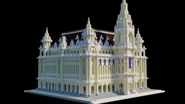 Neo-gothic Town Hall Minecraft Map & Project