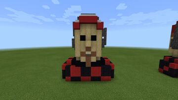 RedNitrate Bust Minecraft Map & Project