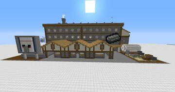 Decoration for Gnembon iron farm / Decoración para la granja de hierro de Gnembon [litematica file/world] Minecraft Map & Project
