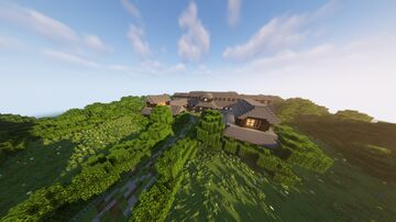 Country Estate Manor Minecraft Map & Project