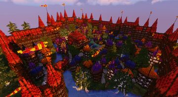 The Elven Village of Havara ~ A D'n'D Village Minecraft Map & Project