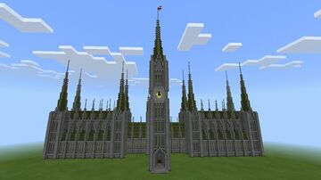The Palace of Edinburgh Minecraft Map & Project