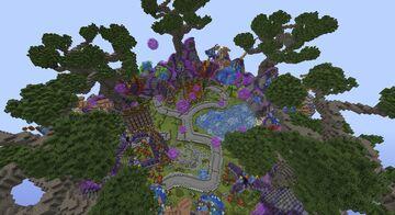 HIGH-QUALITY | Detailed & Custom Fantasy Island Minecraft Map & Project