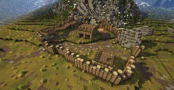 Halted Stream Camp (Skyrim TES) Minecraft Map & Project