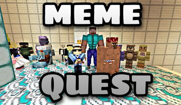 MEME QUEST | 1.12.2| Modded Adventure To Save All of Memekind Minecraft Map & Project