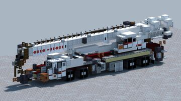 Link-Belt HTT 8675, Mobile crane [With Download] Minecraft Map & Project