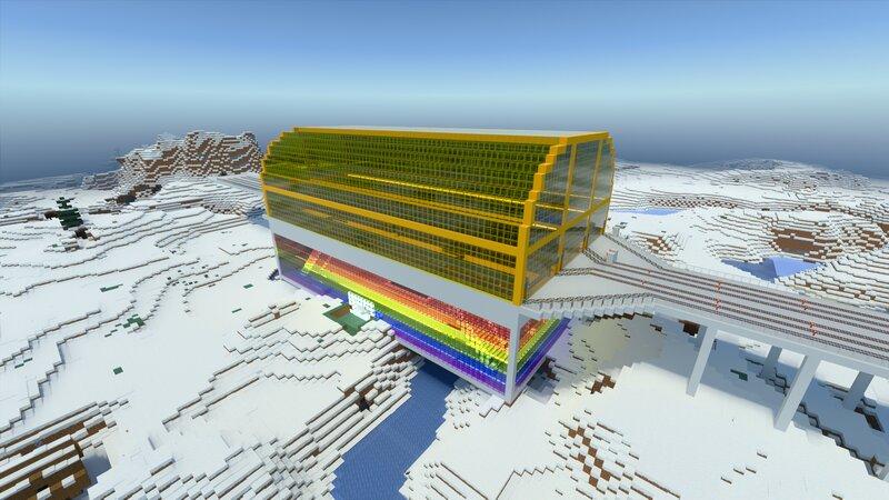 Ice Spike Village station