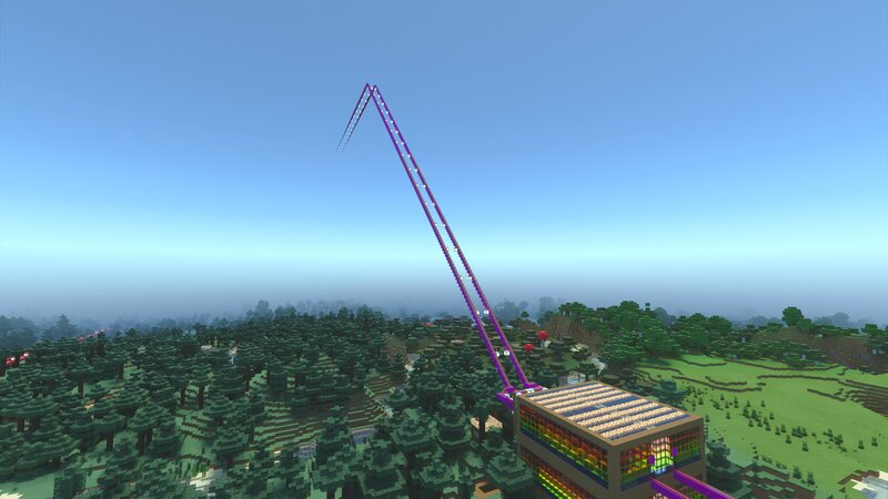 Roller coaster to Cloud Island