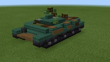 1.5:1 scale IT-1 missile tank destroyer Minecraft Map & Project