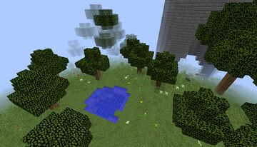 Tower In Giant Tree Minecraft Map & Project