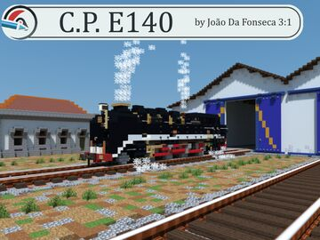 CP E140 - The FASTEST Meter Gauge Locomotive in Portugal. Minecraft Map & Project
