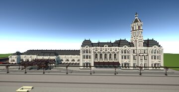 Central Station Minecraft Map & Project