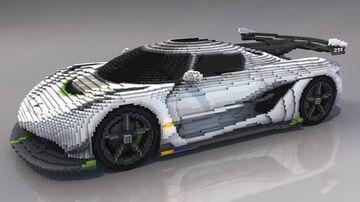 Minecraft | Koenigsegg Jesko Minecraft Map & Project
