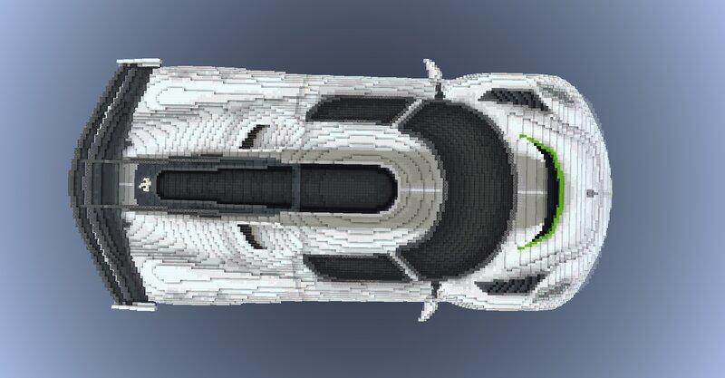 In-game screenshot - Top view