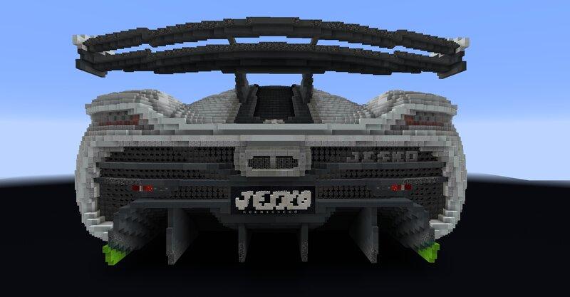 In-game screenshot - Back view