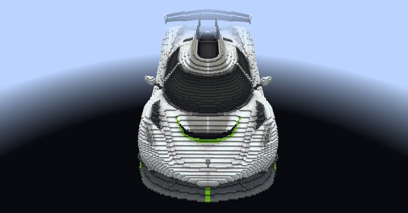 In-game screenshot - Front view