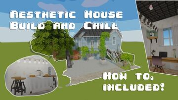 Laxon Aesthetic House Build Minecraft Map & Project