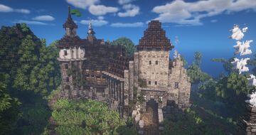 Hrad Grátz Minecraft Map & Project