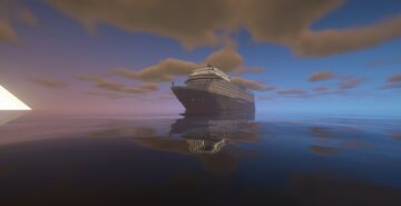 Minecraft Custom Ship [Pearl of the Orient Seas] Minecraft Map & Project