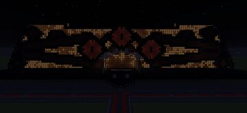Eye Stage   Redstone Concert Stage   build by raupauk Minecraft Map & Project