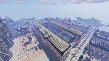 French alternative city ( work in progress/en construction ) Minecraft Map & Project
