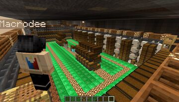 A Builder's Storage Layout - For a dumb non-redstone savvy player like me :D - [World Download] Minecraft Map & Project