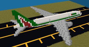 Alitalia 777-200ER Minecraft Map & Project