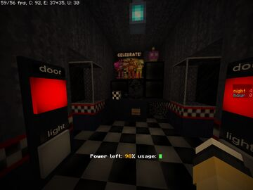 [NEW update] [1.16+] Five Nights At Freddy's 1 game remake Minecraft Map & Project