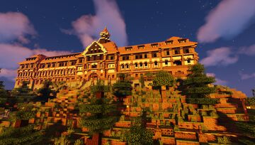 Chateau Roth / The Rothstein Hall Minecraft Map & Project