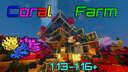 72k/h Coral Fan Farm   1.13-1.16.5+ Minecraft Map & Project