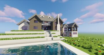 Luxury house Minecraft Map & Project