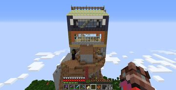 Crazy Savanna Mountain House Minecraft Map & Project