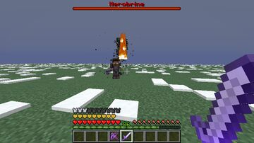 Custom boss fight map:Battle against Herobrine Minecraft Map & Project