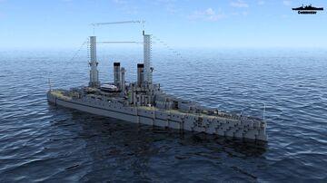 USS South Carolina BB-26 1910 Minecraft Map & Project