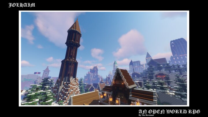 JOLHAIM: An Open World RPG Alpha Release Minecraft Map