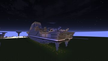 Constitution class (battle cruiser) Minecraft Map & Project