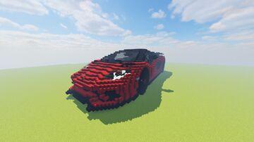 Lamborghini Aventador S (1.16) Minecraft Map & Project