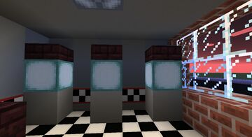 Vanilla Five Nights At Freddy's Map with 3D Models v2 Minecraft Map & Project