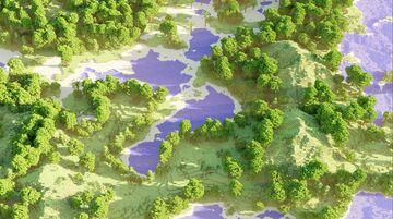 Tropical archipeligo Minecraft Map & Project