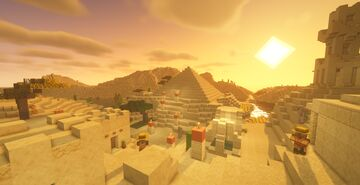 Desert World Minecraft Map & Project