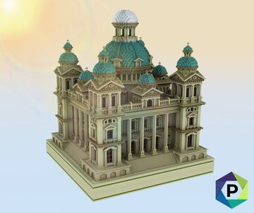 Sandstone Cathedral | 1.8+ Minecraft Map & Project