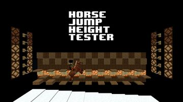 Horse Jump Height Tester Minecraft Map & Project