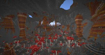 Caverns of Utopia Minecraft Map & Project