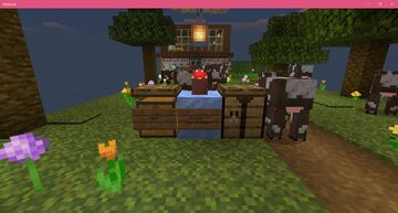 Cow Town Skyblock Minecraft Map & Project