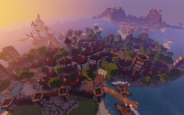 Spawn City Minecraft Map & Project