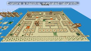 The Pharaoh's Labyrinth Minecraft Map & Project