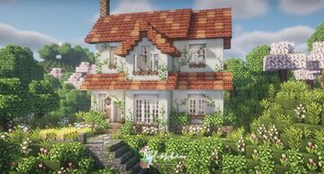 Botanist's Farmhouse 🌿🌷 Minecraft Map & Project