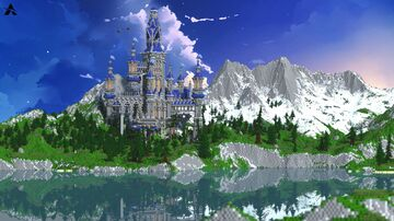 CASTLE ON THE HILL   CASTLE LOBBY   HUB Minecraft Map & Project