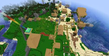 Survival mission Minecraft Map & Project